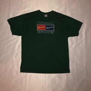 TOMMY SPORTS GREEN TEE